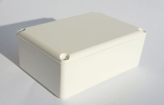ABS Small Project Box: 74mm x 50mm x 28mm (MDRX2010 WHITE)